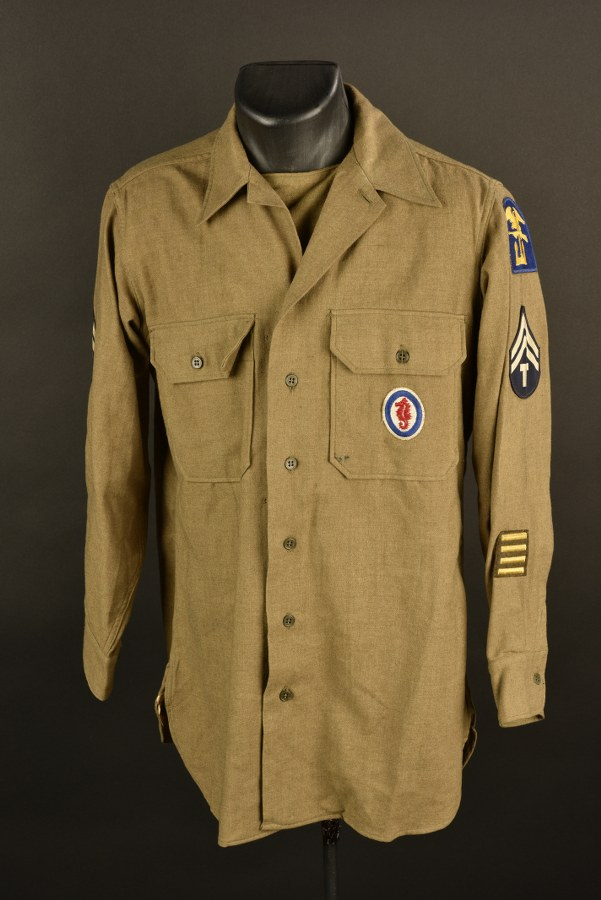 Chemise moutarde Engineers Amphibious