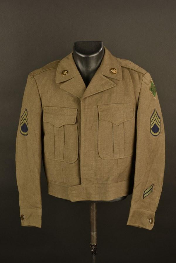 Blouson Ike de Technical Sergent de la 4ème DI US