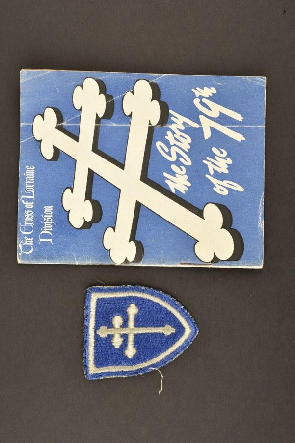 Livret et insigne de la 79ème DI US