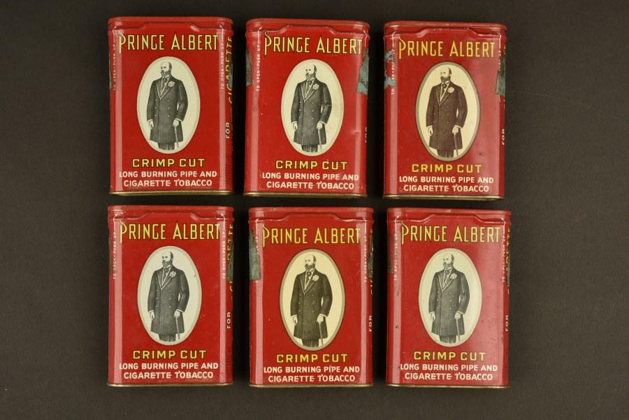 Ensemble de boites de tabac Prince Albert