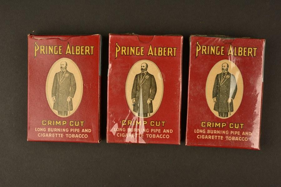 Paquets de tabac Prince Albert