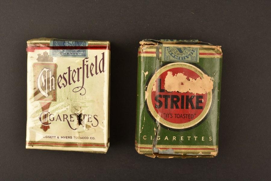 Paquets de cigarette US