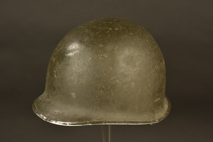 Coque de casque du 2ème bataillon du 508th PIR