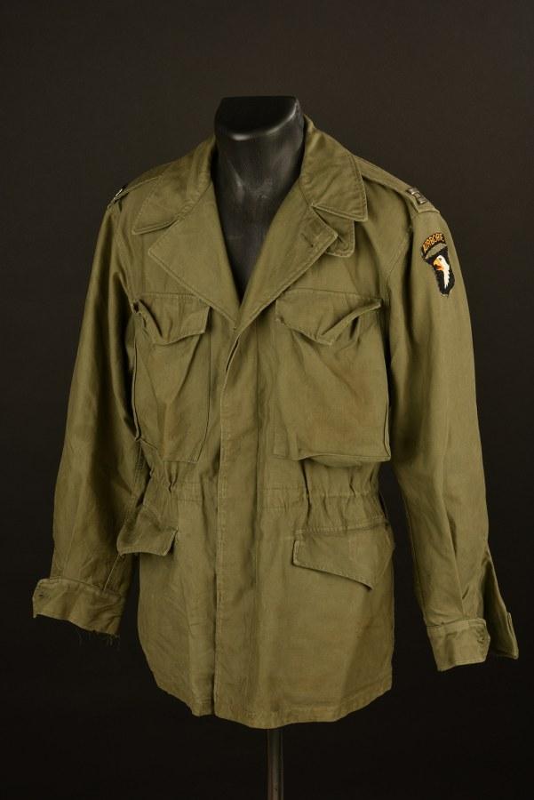 Veste M-43 du capitaine CW Steele de la 101ème Airborne