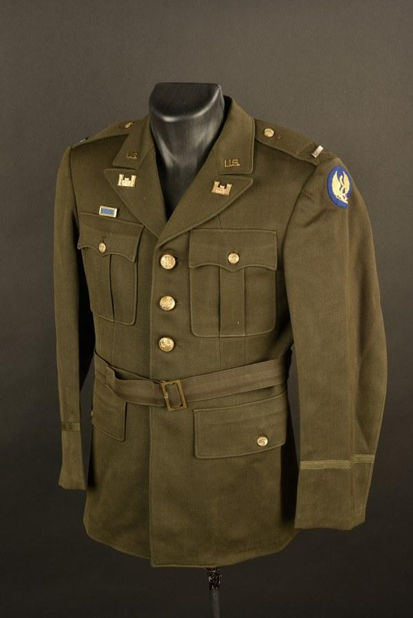 Vareuse de sortie du lieutenant SM Thomas des Engineers de la 8ème Air Force