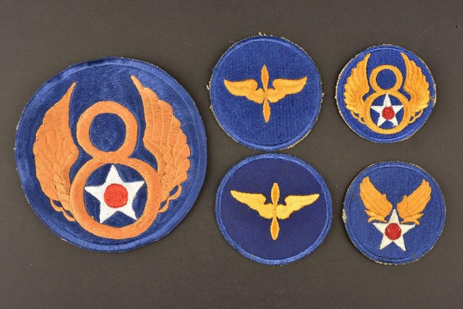 Ensemble de patch de la 8ème Air Force