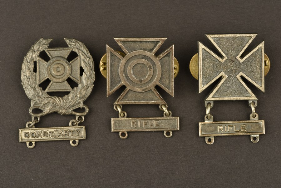 Ensemble de badges de tir US