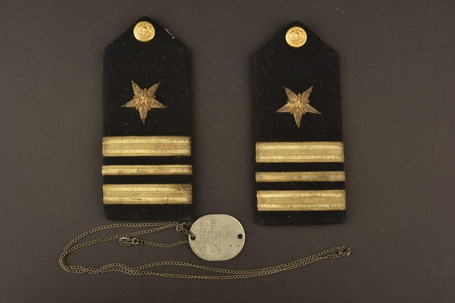 Effets personnels du Lieutenant Commander James Elmer USNR