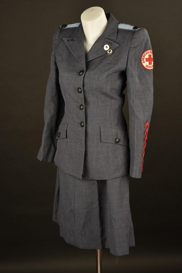 Uniforme de l'American Red Cross Motor Service