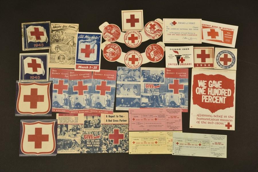 Documents de la Croix Rouge américaine