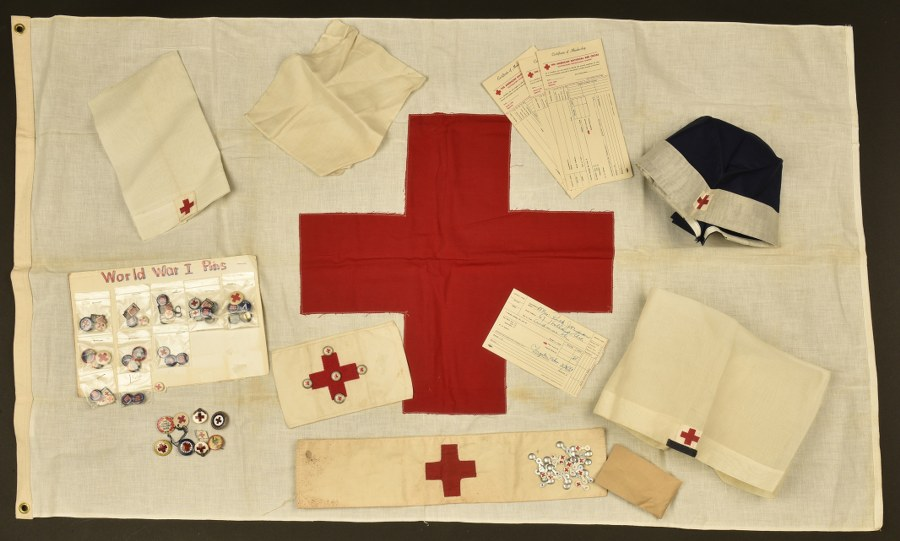 Ensemble d'accessoires de la Red Cross US