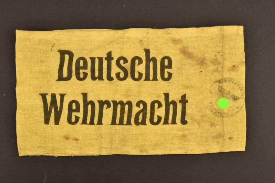Brassard Deutsche Wehrmacht