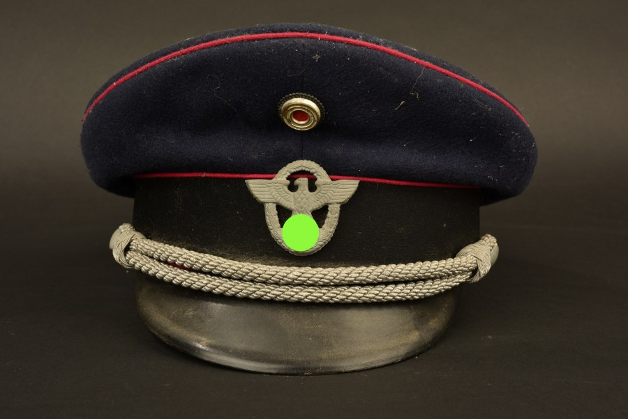 Casquette de la Feuerschutzpolizei