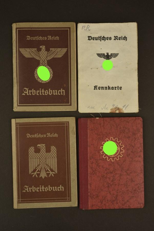 Ensemble de livrets allemand