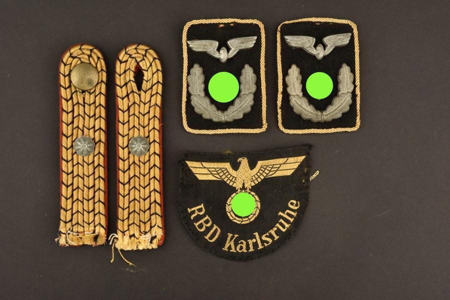 Ensemble d'insignes de la Reichsbahn