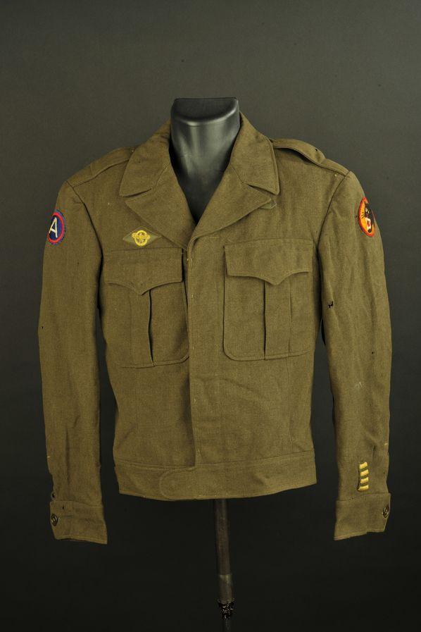 Blouson IKE de la 66ème division d'infanterie US Black Panther