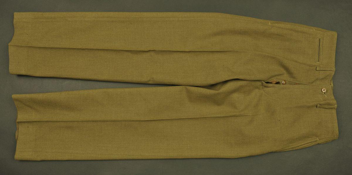 Pantalon moutarde du soldat Starkey