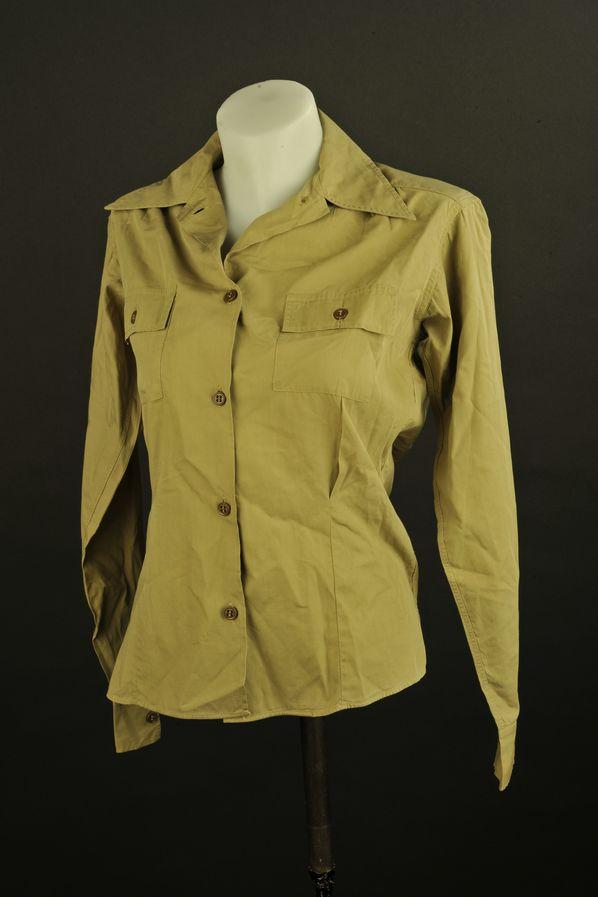 Chemise d'auxiliaire féminin de l'US Army