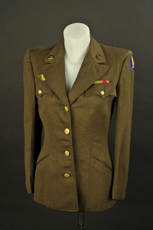 Vareuse troupe des auxiliaires féminin de l'US Air Forces