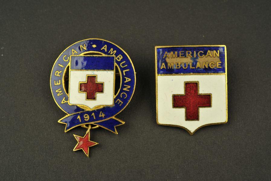 Insignes American Ambulance