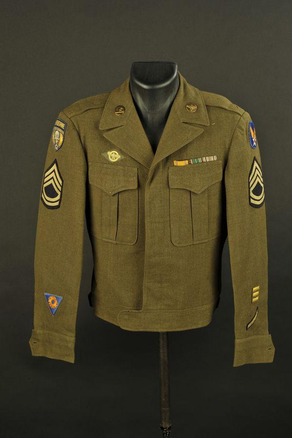 Blouson IKE de sergent-chef spécialiste de l'Airborne Troop Carrier