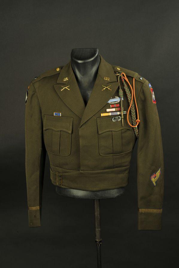 Blouson IKE du Lieutenant GG Sawley des unités pathfinder de la 82ème Airborne/101ème Airborne