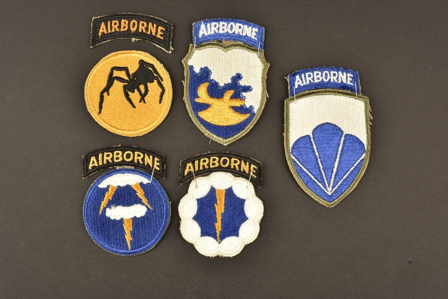 Insigne des divisions parachutiste US fantôme