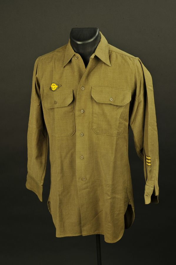 Chemise moutarde US