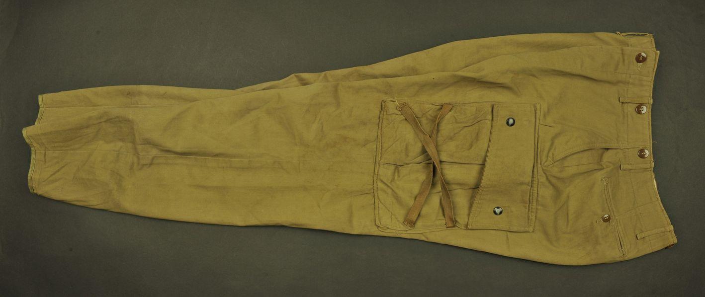 Pantalon M-42 du parachutiste DL Porter