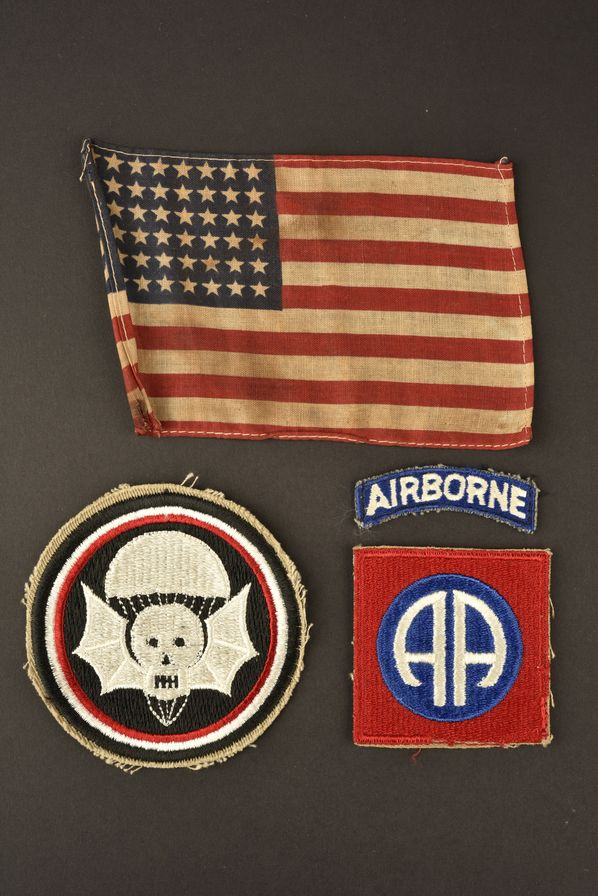 Ensemble d'insigne du 502ème PIR de la 82ème Airborne
