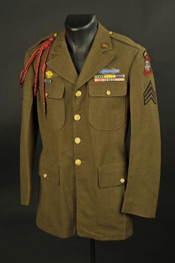 Vareuse de sergent de la 82ème Airbone/Allied Airborne