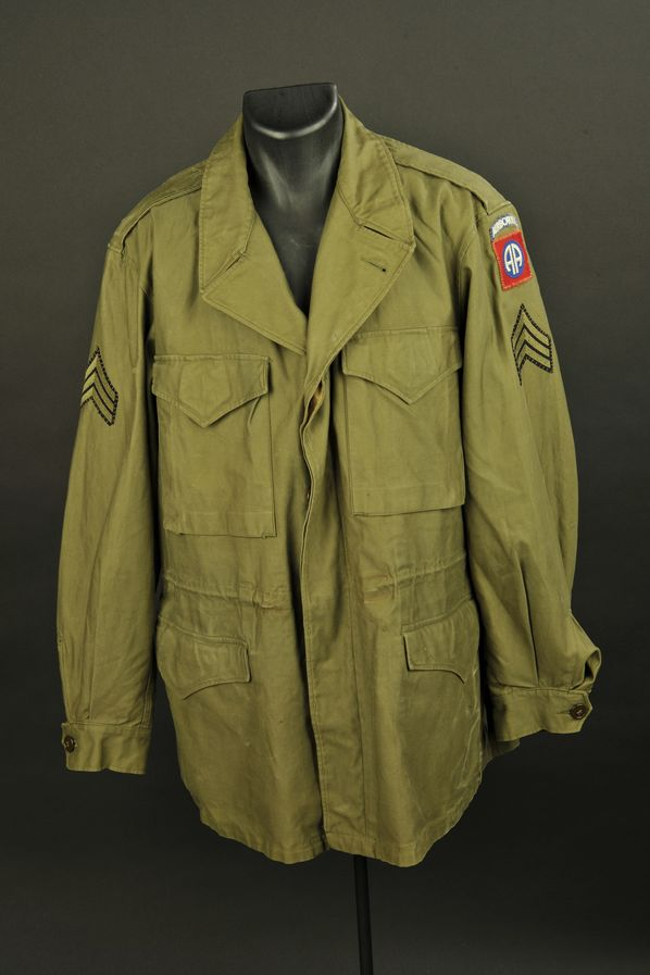 Veste M-43 de sergent de la 82ème Airborne