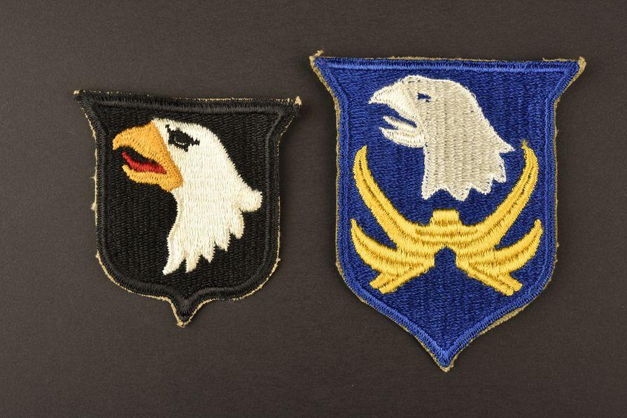 Ensemble de patch de la 101ème airborne