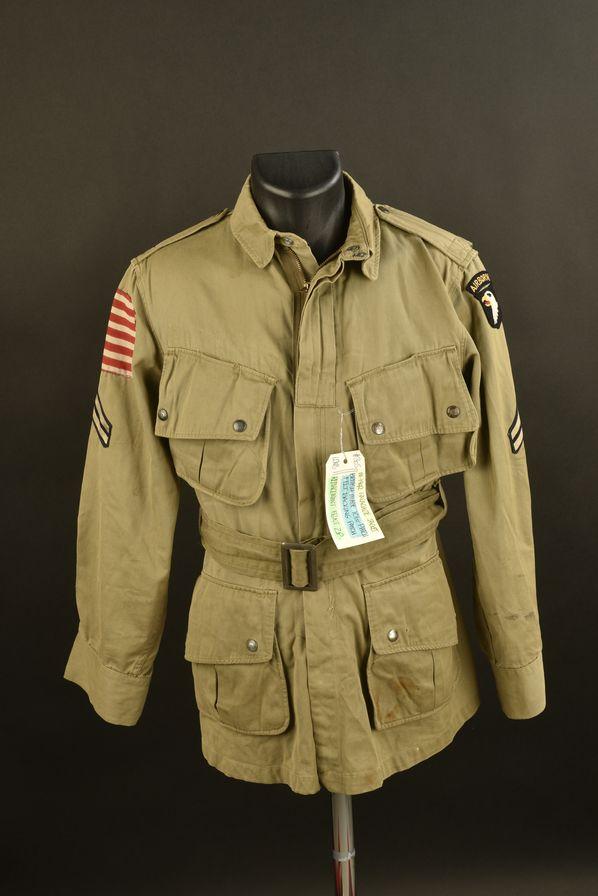 Veste de saut de la 101ème Airborne.