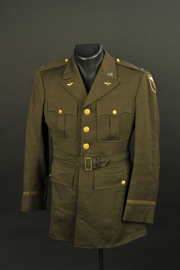 Vareuse de Lieutenant de la 4ème Air Force