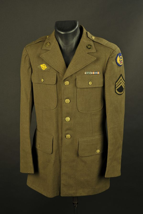 Vareuse troupe de sergent-chef de la 8ème Air Force