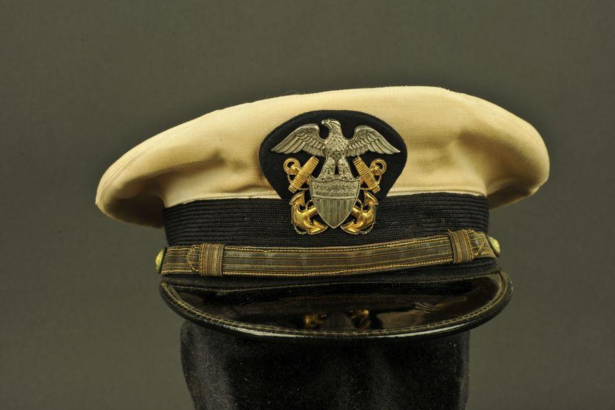 Casquette d'officier US Navy