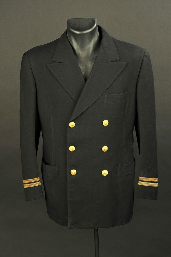 Vareuse du Lieutenant PF Berning de l'US Navy