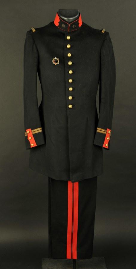 Uniforme de grande tenue modèle 1931 du 61eme d'artillerie de Guy Lallia