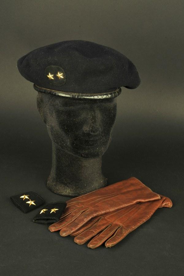 Béret et fourreau d'épaulettes du Général Guy Lallia