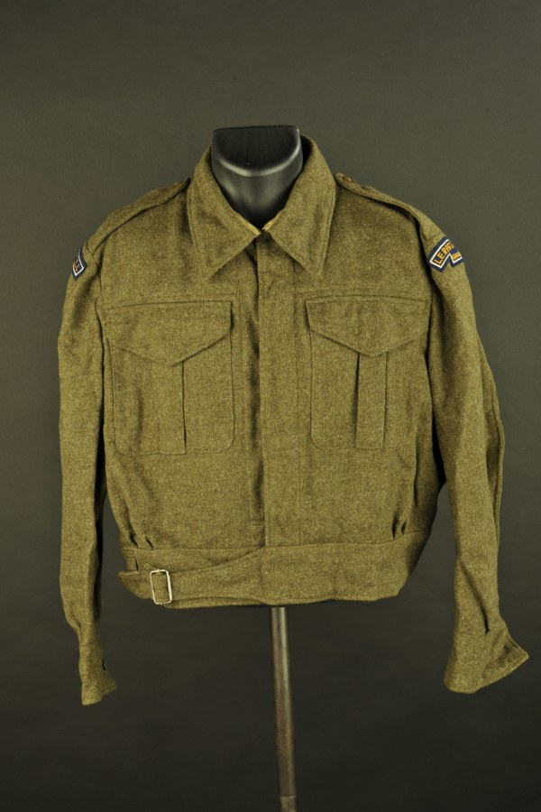 Blouson Battle Dress canadien du Le Regt De Hull Canada