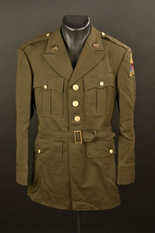 Vareuse d'officier US de la 3ème Division blindée US