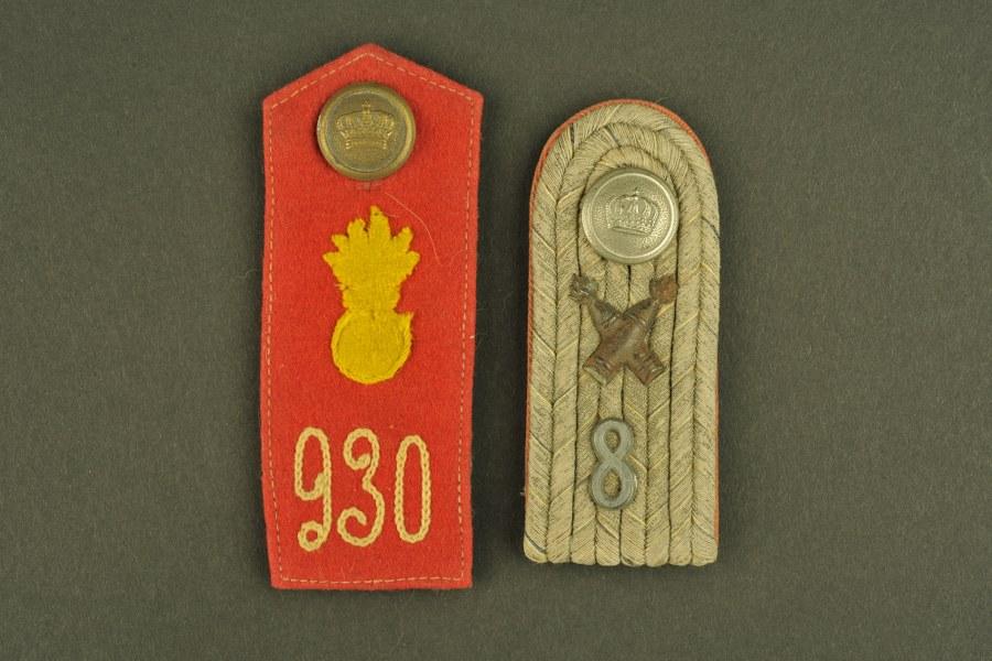 Pattes d'épaule allemande WWI
