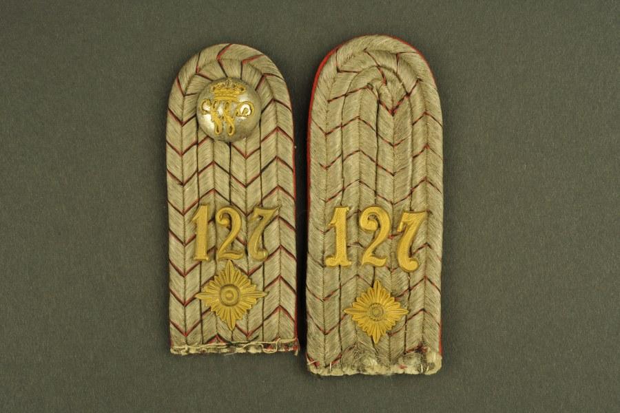 Pattes d'épaule d'officier allemand WWI