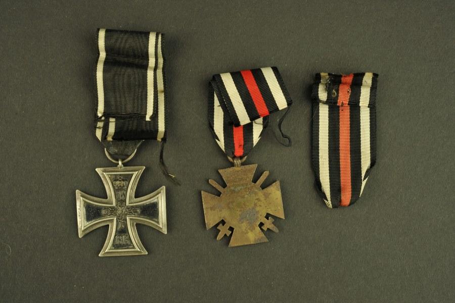 Ensemble de décorations allemande WW1