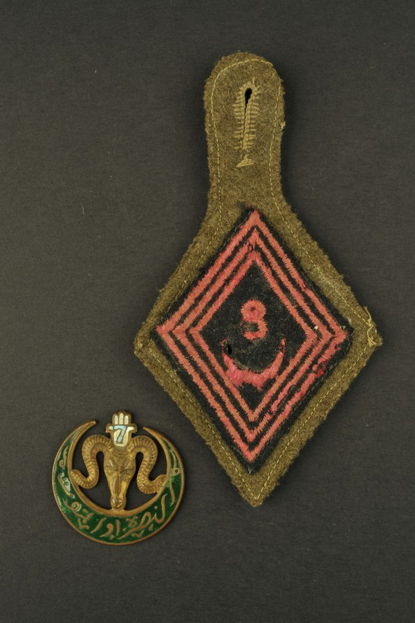 Insignes des troupes coloniales