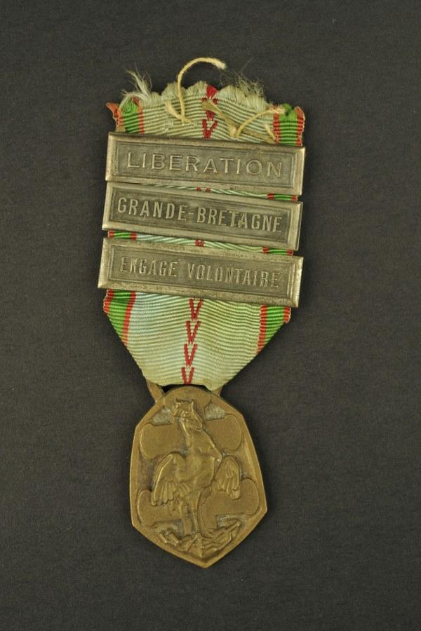 Médaille République Française Guerre 1939-1945