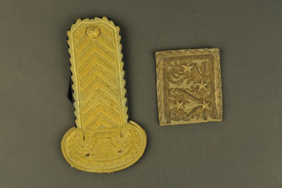 Morceau d'épaulette de général de brigade