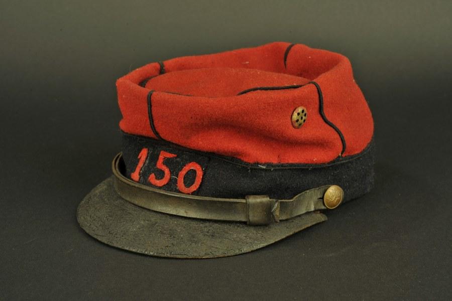 képi réglementaire troupe du 150e d'Infanterie