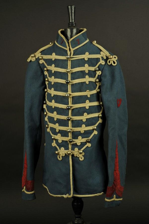 Dolman mle 1874/84 de caporal du 7ème Hussard